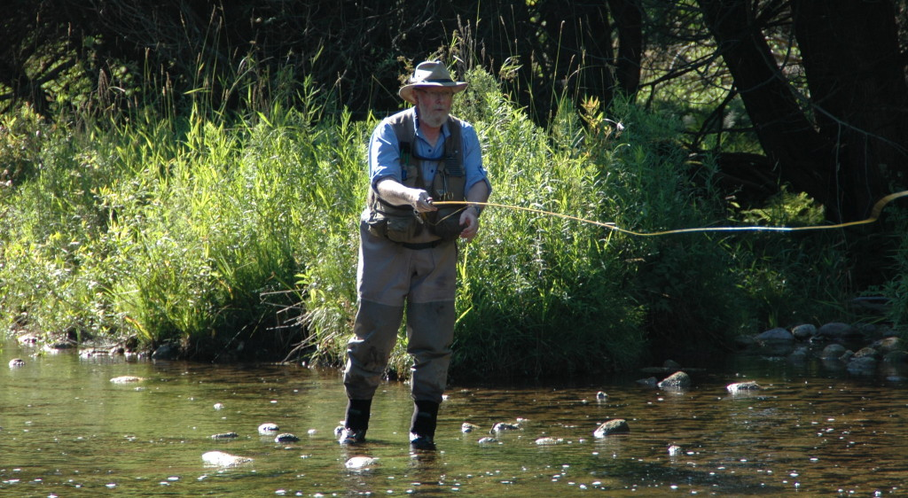 Casting my Sweetgrass to wary trout
