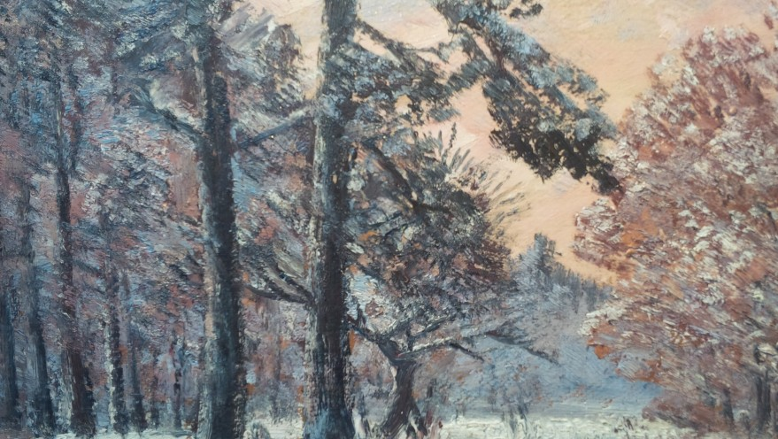 Untitled (Winter at Dusk), 1920-30
