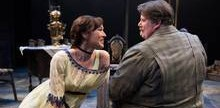 Scene from Uncle Vanya with Marla McLean and Neil Barclay