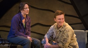 Rebecca Auerbach as Laurie and Jesse LaVercombe as Matthew