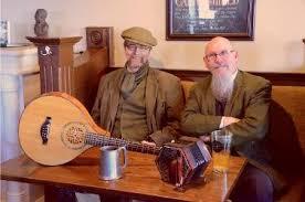 Brad McEwen (left) with Hunter's Corners companion Bill Nesbitt