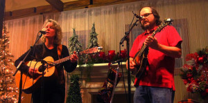 The Schotts performing a Christmas house concert