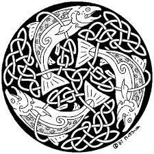 Mythic Celtic Salmon