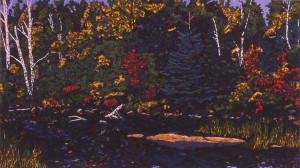 Crane River (2005), copyright by David Peter Hunsberger
