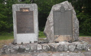 Monuments honouring 50th & 100th anniversaries of conservation in NY State