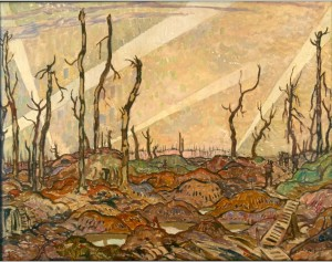War Painting by A.Y. Jackson