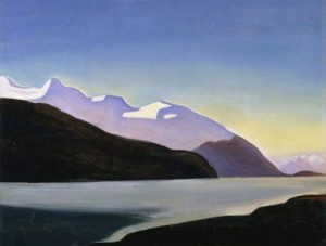 Mountain Lake by Rockwell Kent (1922-25), The Phillips Collection, Washington