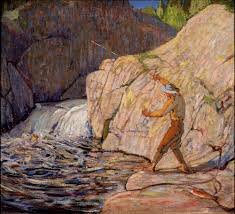 The Fisherman by Tom Thomson