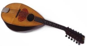 Tom Thomson's  mandolin, Tom Thomson Art Gallery collection