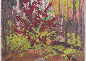 Red Sumac by Tom Thomson (Fall 1916)