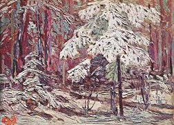 Snow in the Woods by Tom Thomson (Fall 1916)