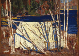 The Tent by Tom Thomson (1915)