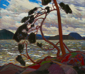The West Wind by Tom Thomson (Winter 1916-17)