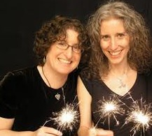 Gathering Sparks (Goldberg on left)